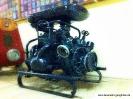 ... die FFW Gangkofen schon im Jahr 1925 ihre erste Motorspritze beschaffte? Es handelt sich um eine Pumpe der Marke Flader, Typ Siegerin für damals 3050,- RM und steht noch heute im Feuerhaus